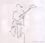 Didier Combrouze - Sketch by Christine Lesueur